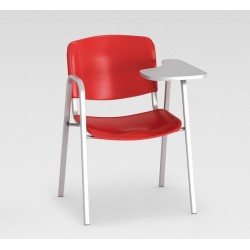 Sofia - Chaise en polypropylène + tablette renforcée