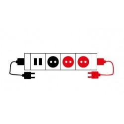 Electrification type A-3 pour goulottes
