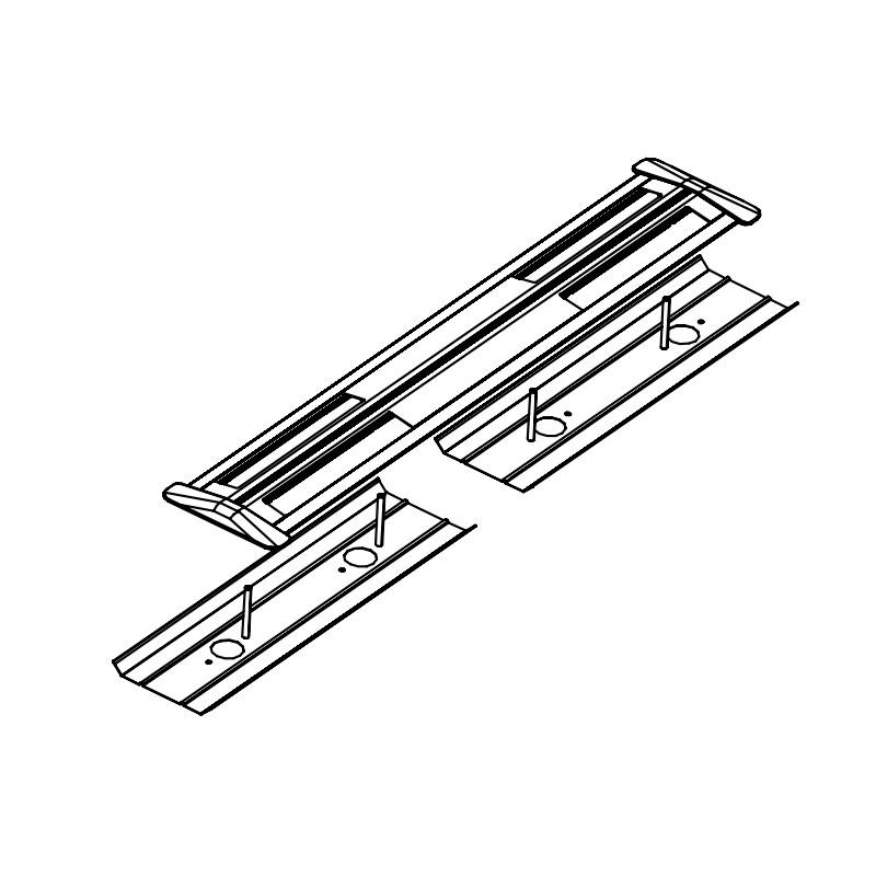 Electrification goulotte Type A Blanc