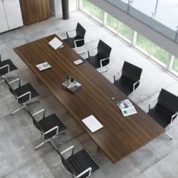 Tamise - Table de réunion rectangulaire
