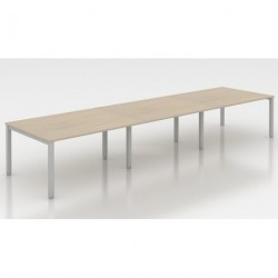 Tage - Table de réunion rectangulaire
