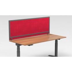 Colorado cloisonnette frontale 1 niveau bureau individuel avec mousse acoustique